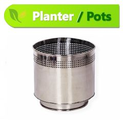 Stainless Steel Planter (15 x 18 inches)